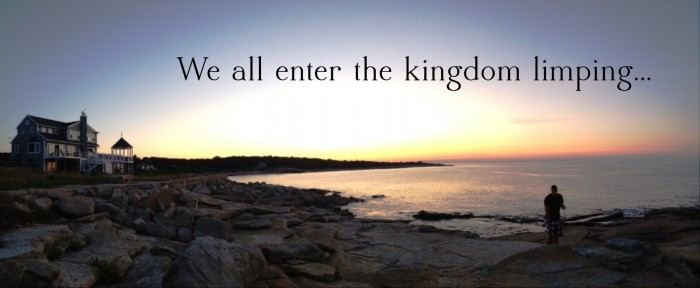We all enter the kingdom limping