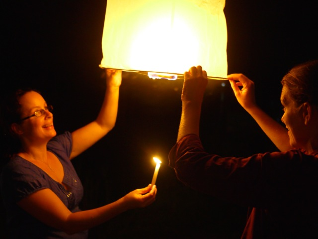 LPB Lisa and Tash lighting lantern