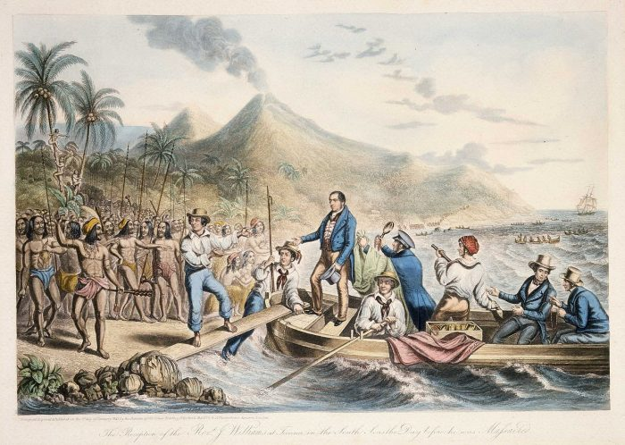 The_Reception_of_the_Rev._J._Williams,_at_Tanna,_in_the_South_Seas,_the_Day_Before_He_Was_Massacred,_1841_(B-088-015)
