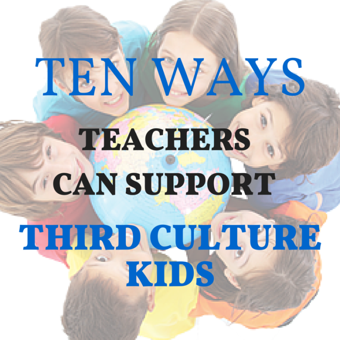 10 Ways Teachers Can Support Third
